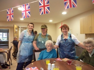 Photo kindly provided by Urray House care home (part of The Parklands care group)
