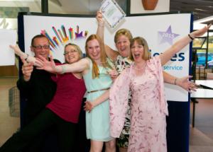 Image by Guy Hinks. Ayrshire Achieves Awards 2015 at Ayr Hospital