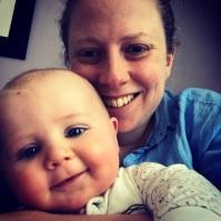 OT Intern 2017 Lynsey with her baby