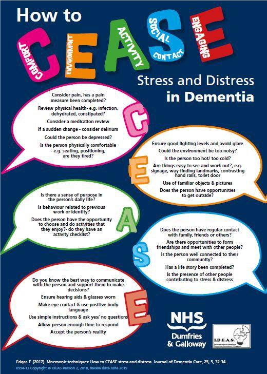 National AHP Dementia Webex Series Top Tips for Working with Stress